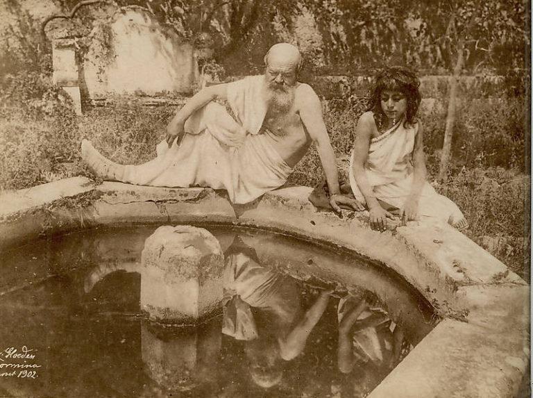 Сократ у фонтана. 1902 г.