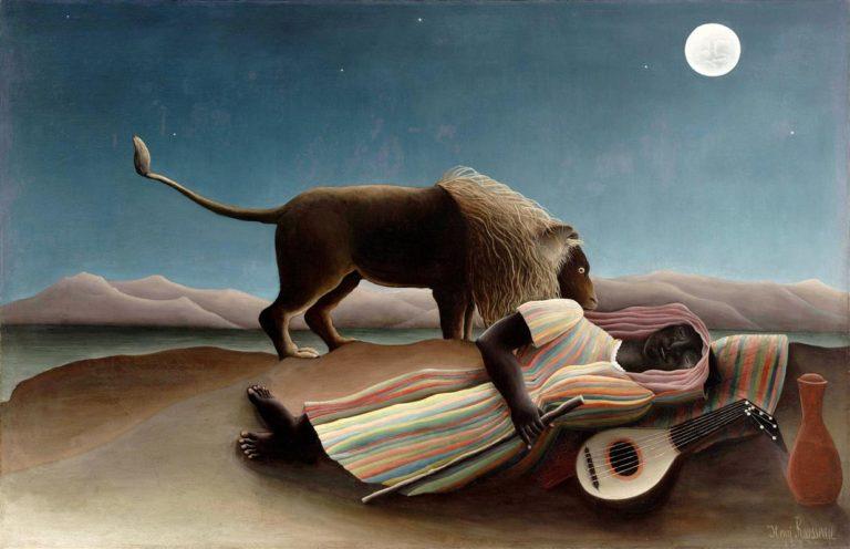 Спящая цыганка.1897