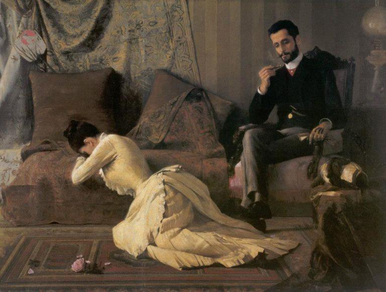 Ссора. 1887