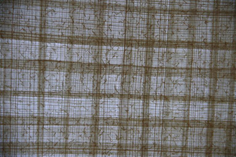 Структура готового папируса