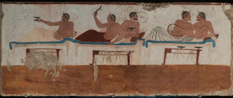 Сцена симпосия. 475 г. до н.э.