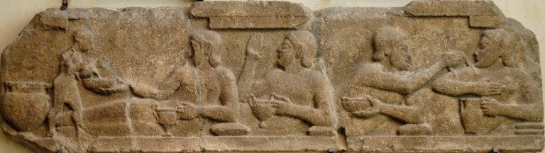 Сцена симпозия. VI в. до н.э.