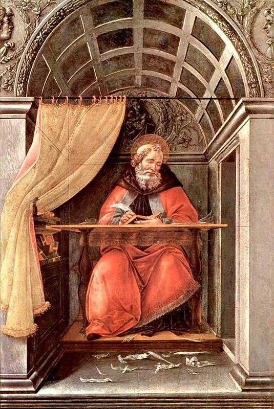 Святой Августин. 1490–1494