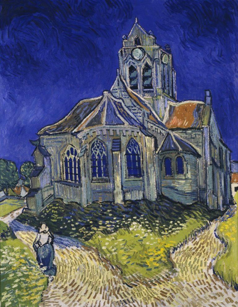 Церковь в Овере. 1890