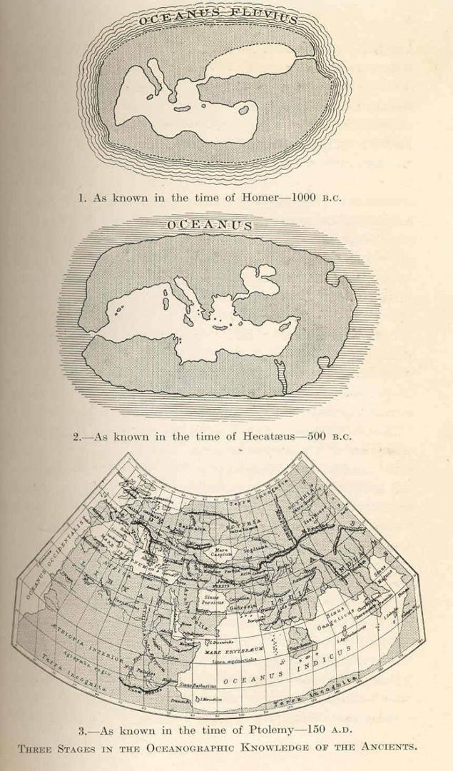 Уильям Эббот Хердман. Три стадии океанографии в античности. 1923