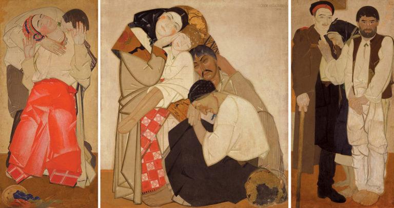 Триптих «Жизнь». Любовь, семья, возвращение. 1927