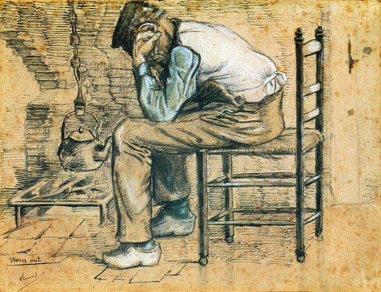 Уставший. 1881