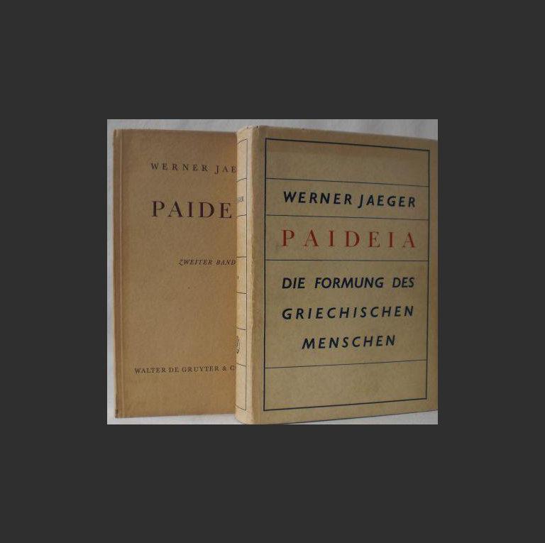 Вернер Йегер. Пайдейя, Воспитание античного грека. 1934 г.