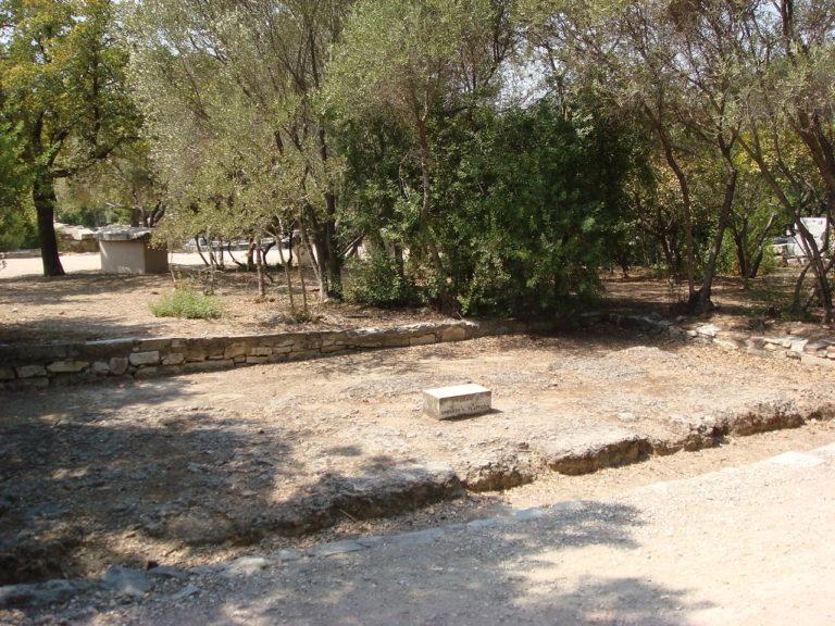 Возвышение для оратора на афинской Агоре