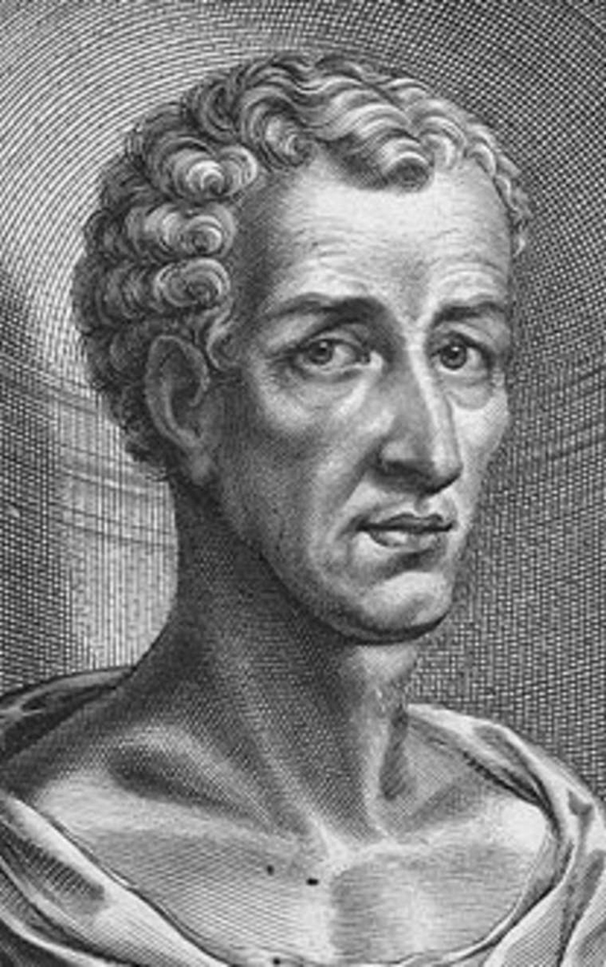 Вымышленный портрет Лукиана. XVII в.