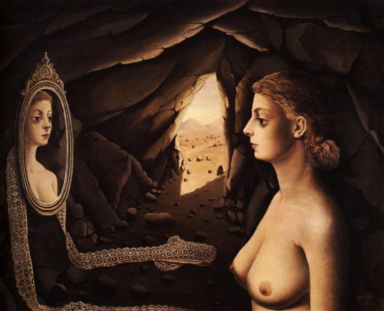 Женщина в пещере. 1936
