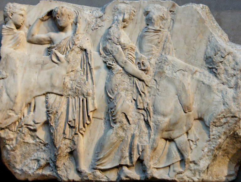 Жертвоприношение быков. Около 447-433 гг. до н.э.