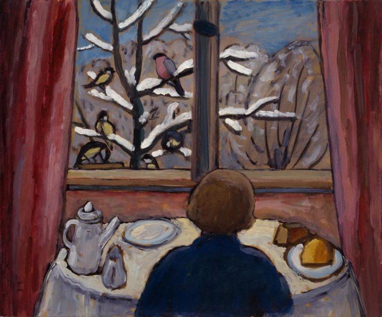 Завтрак с птицами. 1934