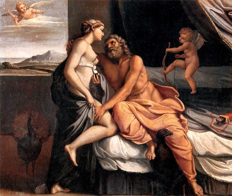 Зевс и Гера (Юпитер и Юнона)