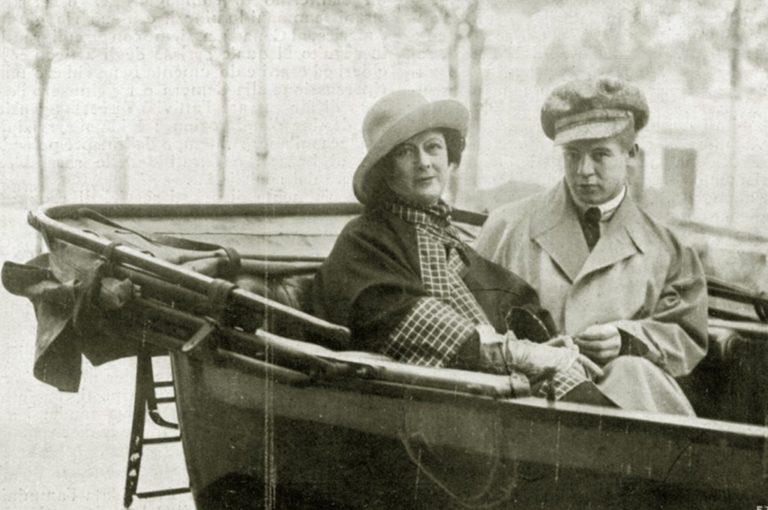 Айседора Дункан (англ. Isadora Duncan, 1877–1927) и Сергей Александрович Есенин (1895–1925)