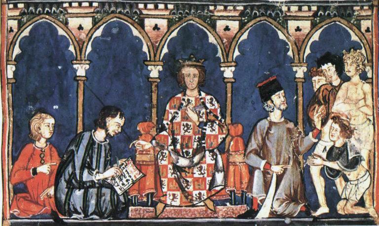 Альфонс Х Мудрый (1221–1284). 1283