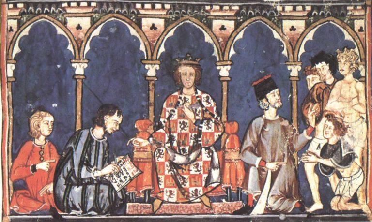 Альфонсо X Кастильский (исп. Alfonso X de Castilla, 1221-1284). 1283