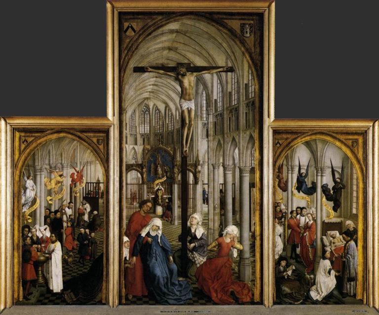 «Алтарь семи таинств». 1445–1550