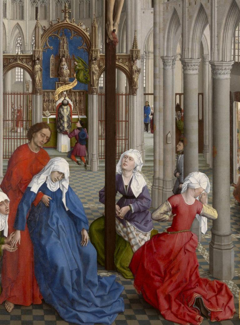 «Алтарь семи таинств». Фрагмент. 1445–1550