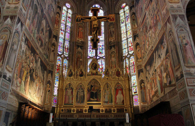Алтарь церкви Санта-Кроче. Флоренция, XIV в.