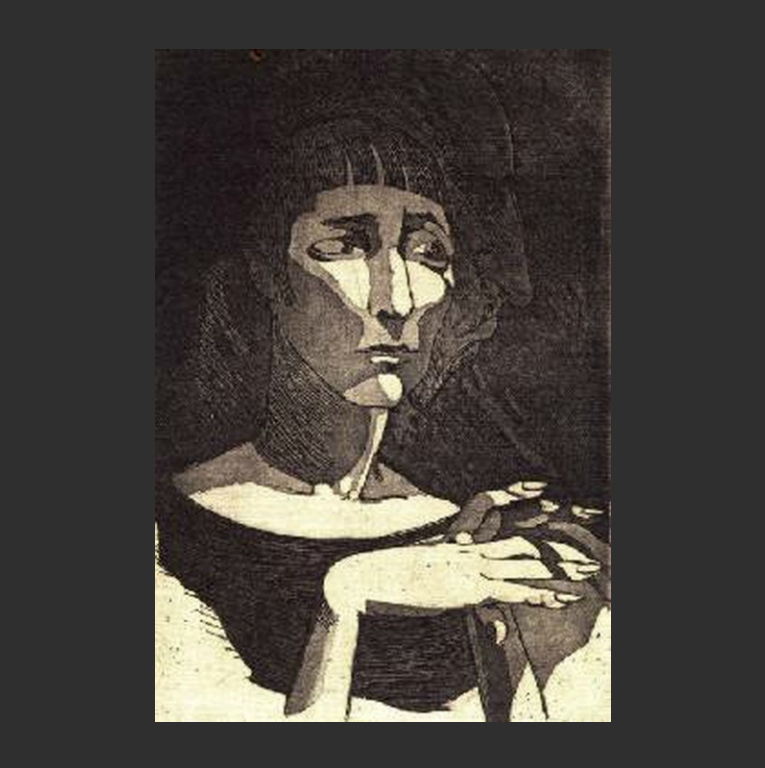 Анна Ахматова и Николай Гумилёв. Двойной портрет. 1926