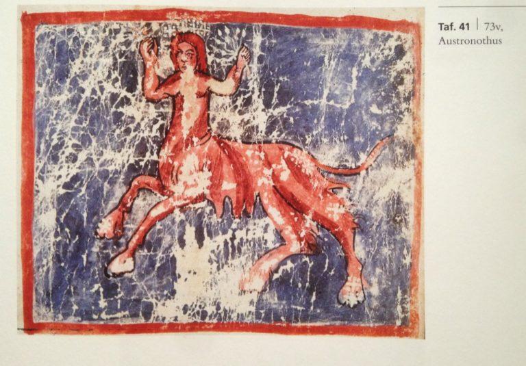 «Астронавт». Созвездие южного полушария. XI–XII вв.