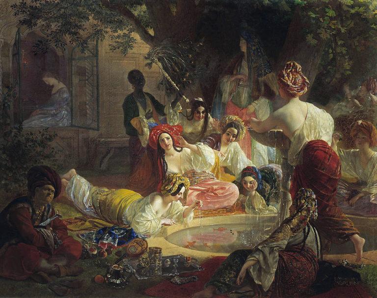 Бахчисарайский фонтан. 1849