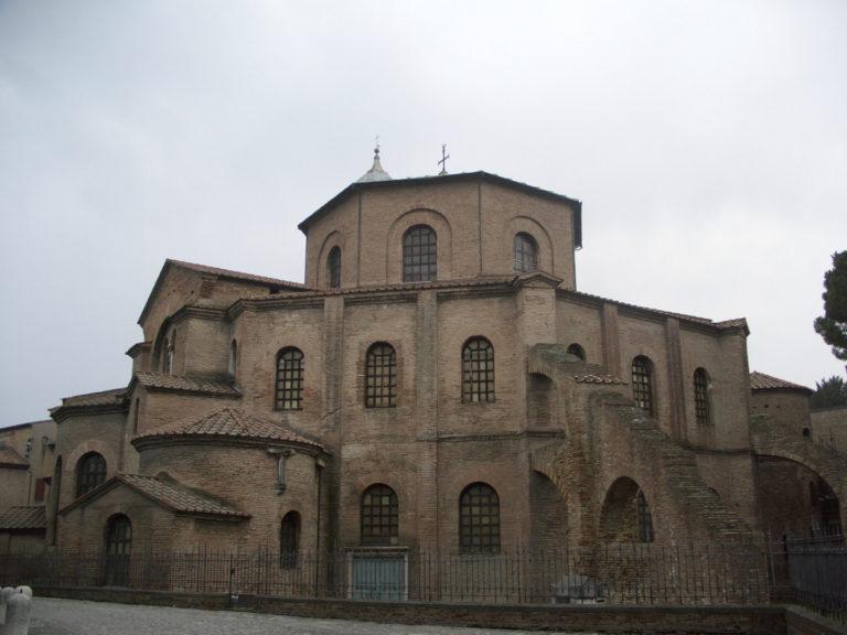 Базилика Сан-Витале. I пол. VI в. Равенна