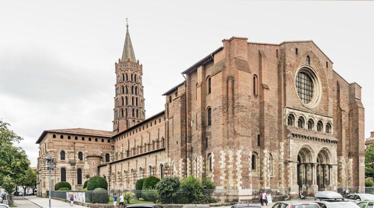 Базилика Сен-Сернен. XII в. Тулуза