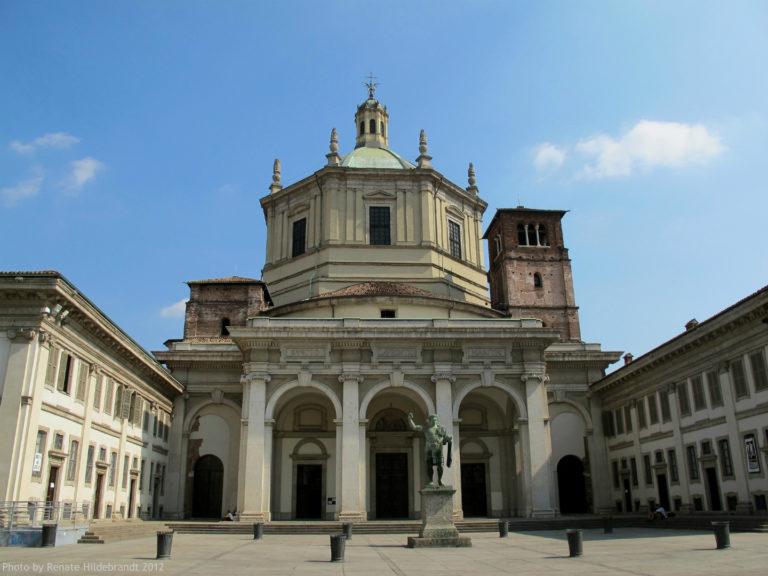 Базилика святого Лаврентия. Кон. IV в. Милан