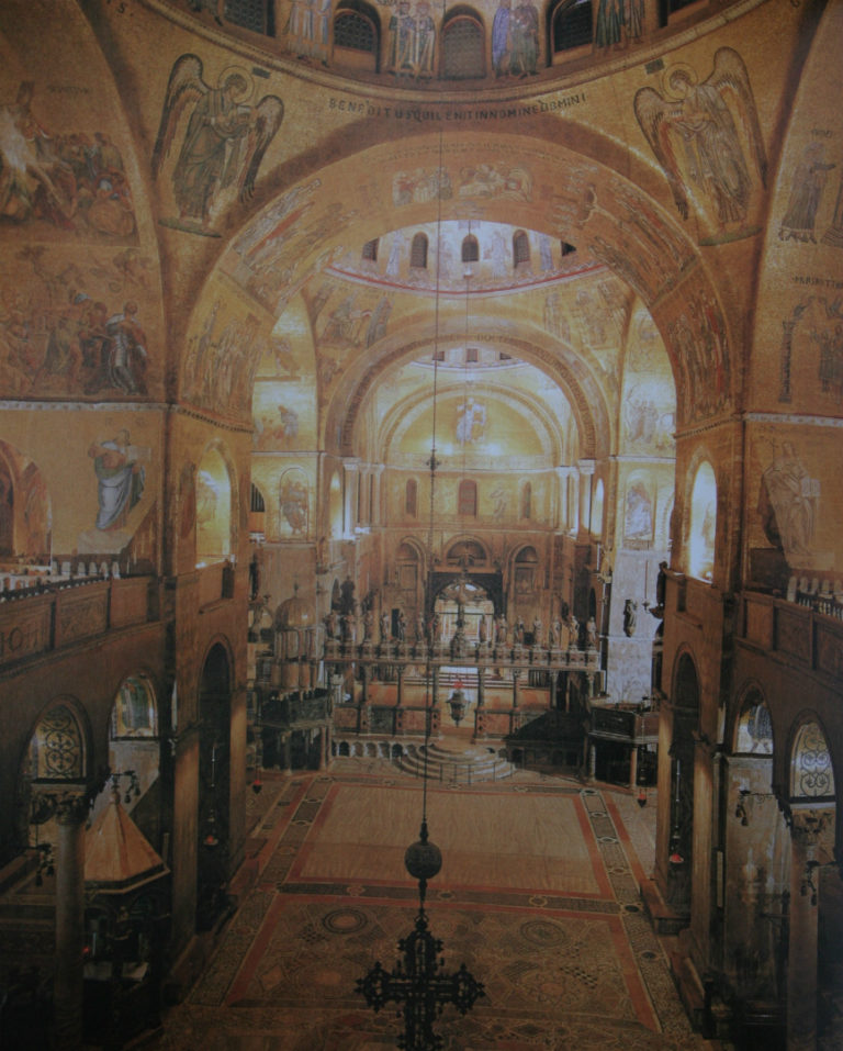 Базилика св. Марка. Мозаики XII–XIII вв. Венеция