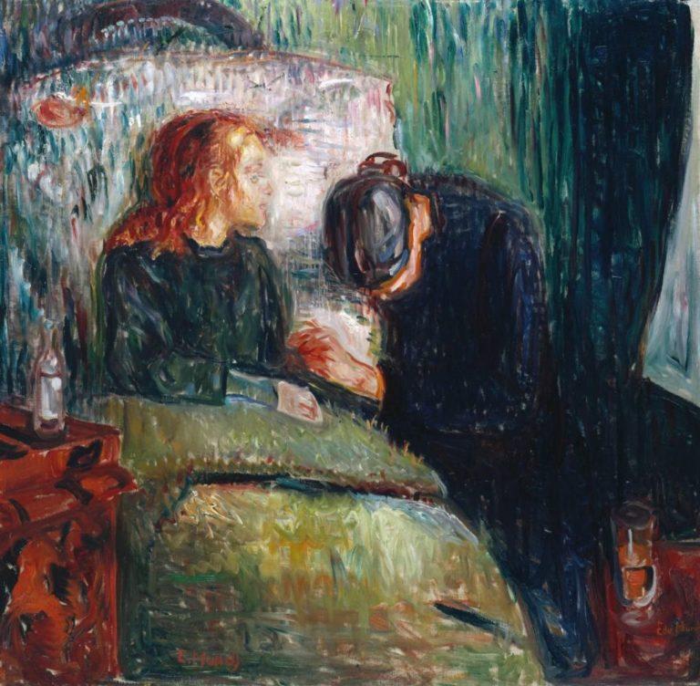 Больная девочка. 1907