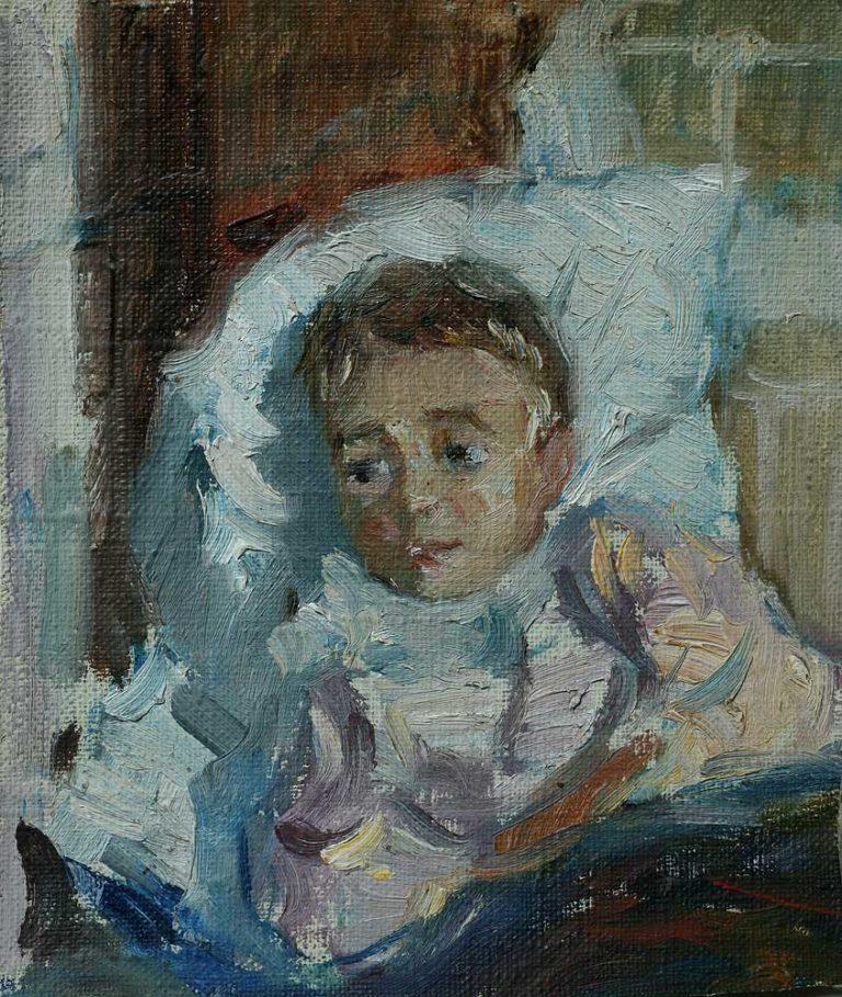 Больной ребенок. 1934–1935