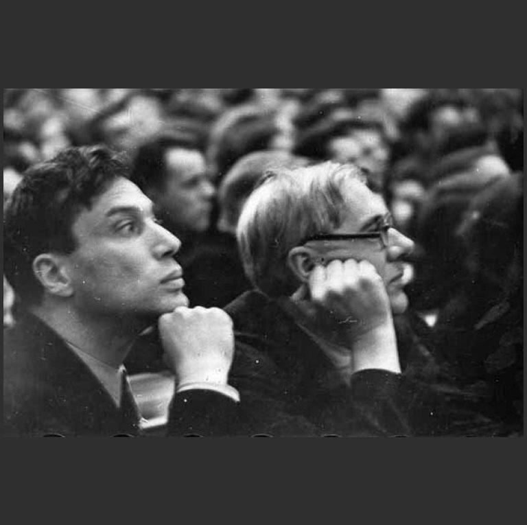 Борис Пастернак на Первом съезде советских писателей. 1934