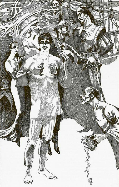 Было дело в Грибоедове. Иллюстрация к роману «Мастер и Маргарита». 1997