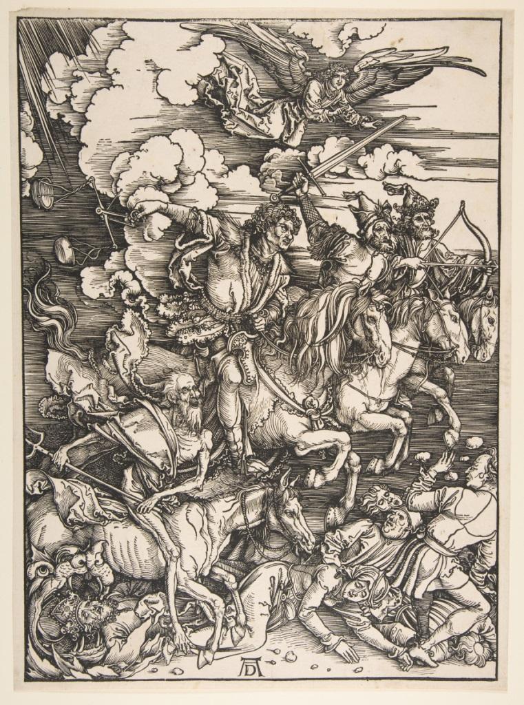 Четыре всадника Апокалипсиса. 1496