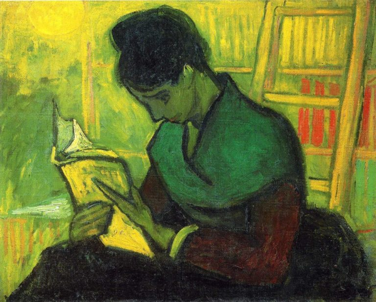 Читательница романа. 1888
