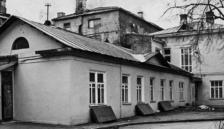 Дом Герцена на Тверском бульваре, где О.Э.Мандельштам и Н.Я.Мандельштам жили в 1932–1933 гг.