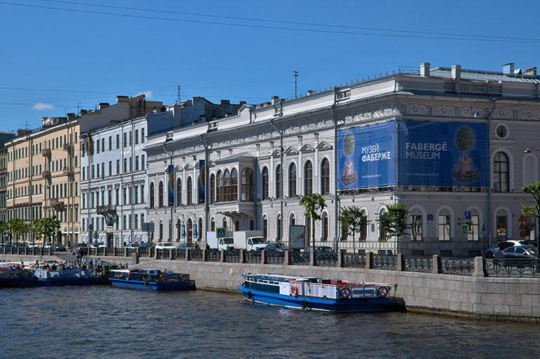 Дом, в котором располагался Ленинградский дом печати