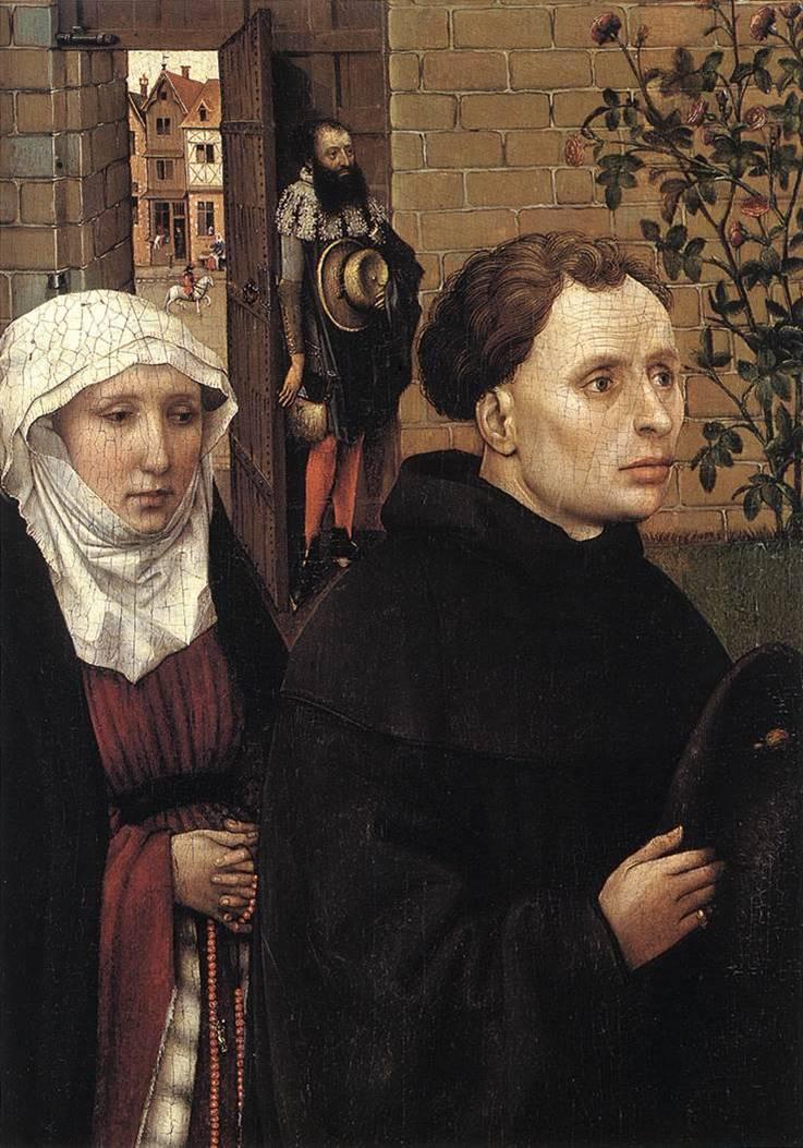Донаторы Мехелены. «Меродский алтарь». 1425–1427