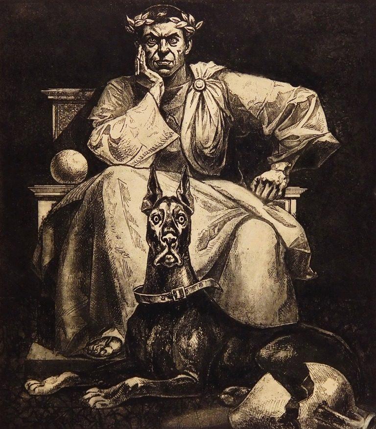Двенадцать тысяч лун. Иллюстрация к роману «Мастер и Маргарита». 1979–1992