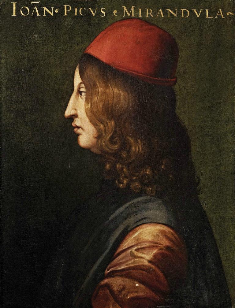Джованни Пико делла Мирандола (итал. Giovanni Pico della Mirandola, 1463–1494). XV в.