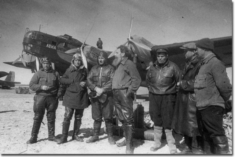Экспедиция на первую в мире советскую полярную научно-исследовательскую дрейфующую станцию «Северный полюс». 1937