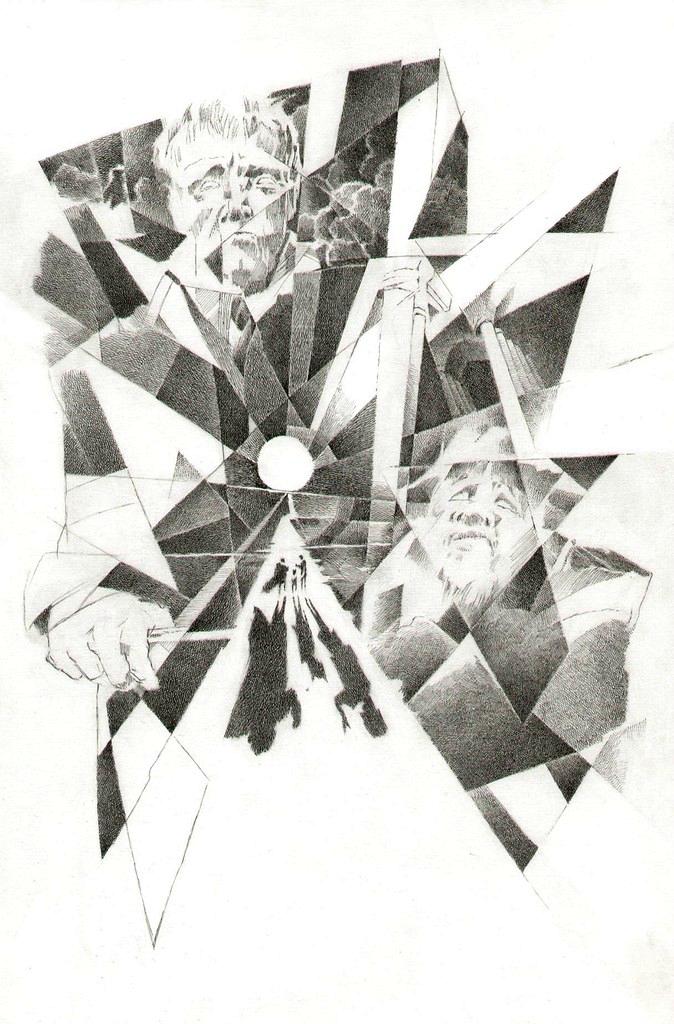 Эпилог. Иллюстрация к роману «Мастер и Маргарита». 2007