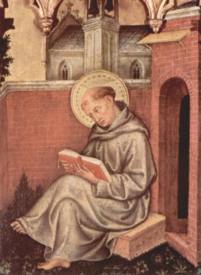 Фома Аквинский (итал. Tommaso d'Aquino, 1225–1274). Ок. 1400