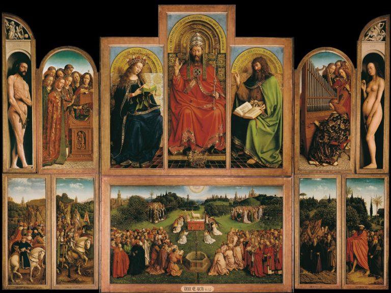 «Гентский алтарь». 1430–1432