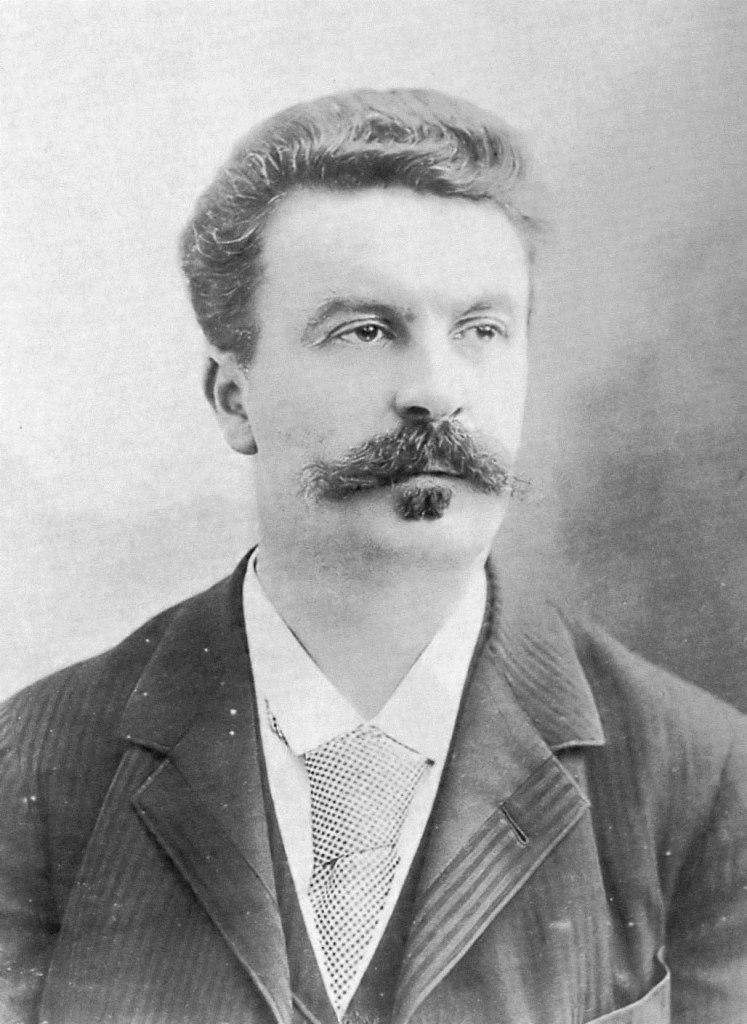 Ги де Мопассан (фр. Guy de Maupassant, 1850–1893)