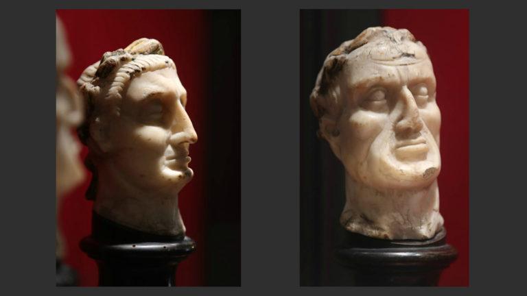 Головы императоров. Италия, XIII в.