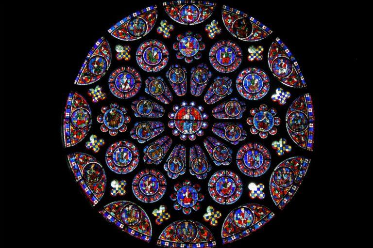 Господь в окружении 24 старцев Апокалипсиса. 1221–1230