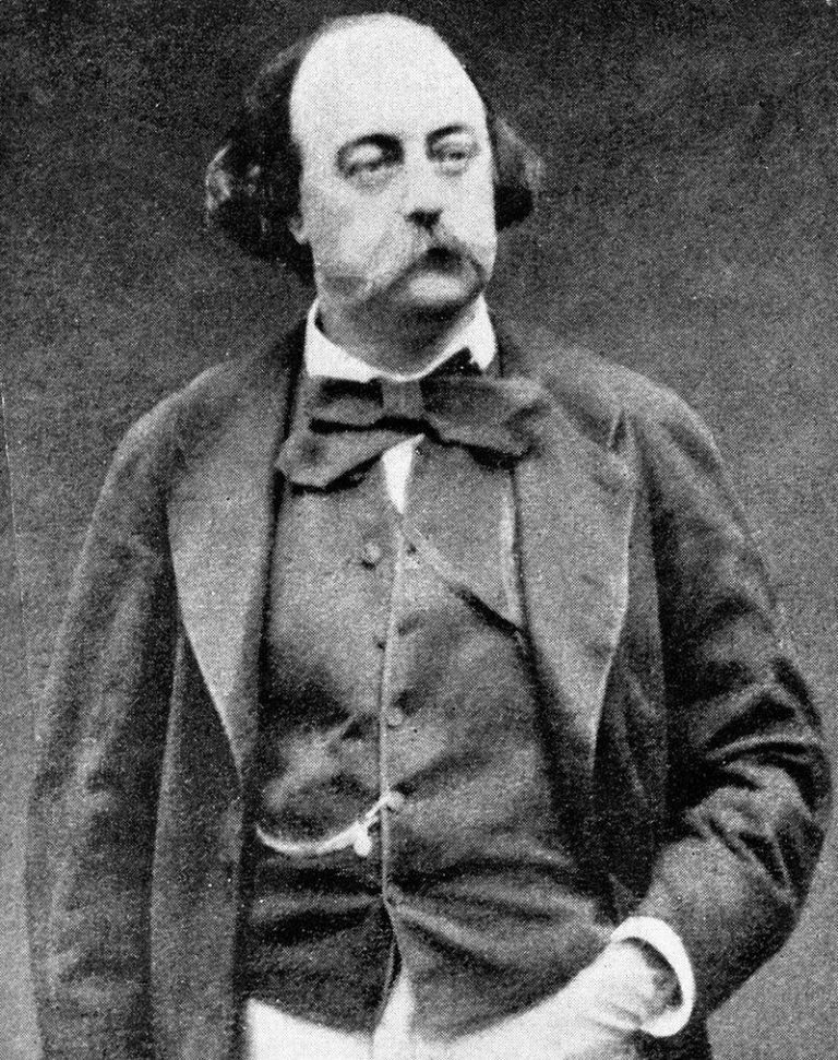 Гюстав Флобер (фр. Gustave Flaubert, 1821–1880)